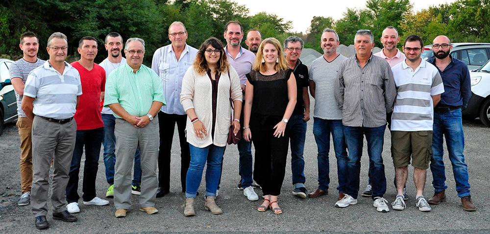 Les membres du Comité des Fêtes de Hagetmau