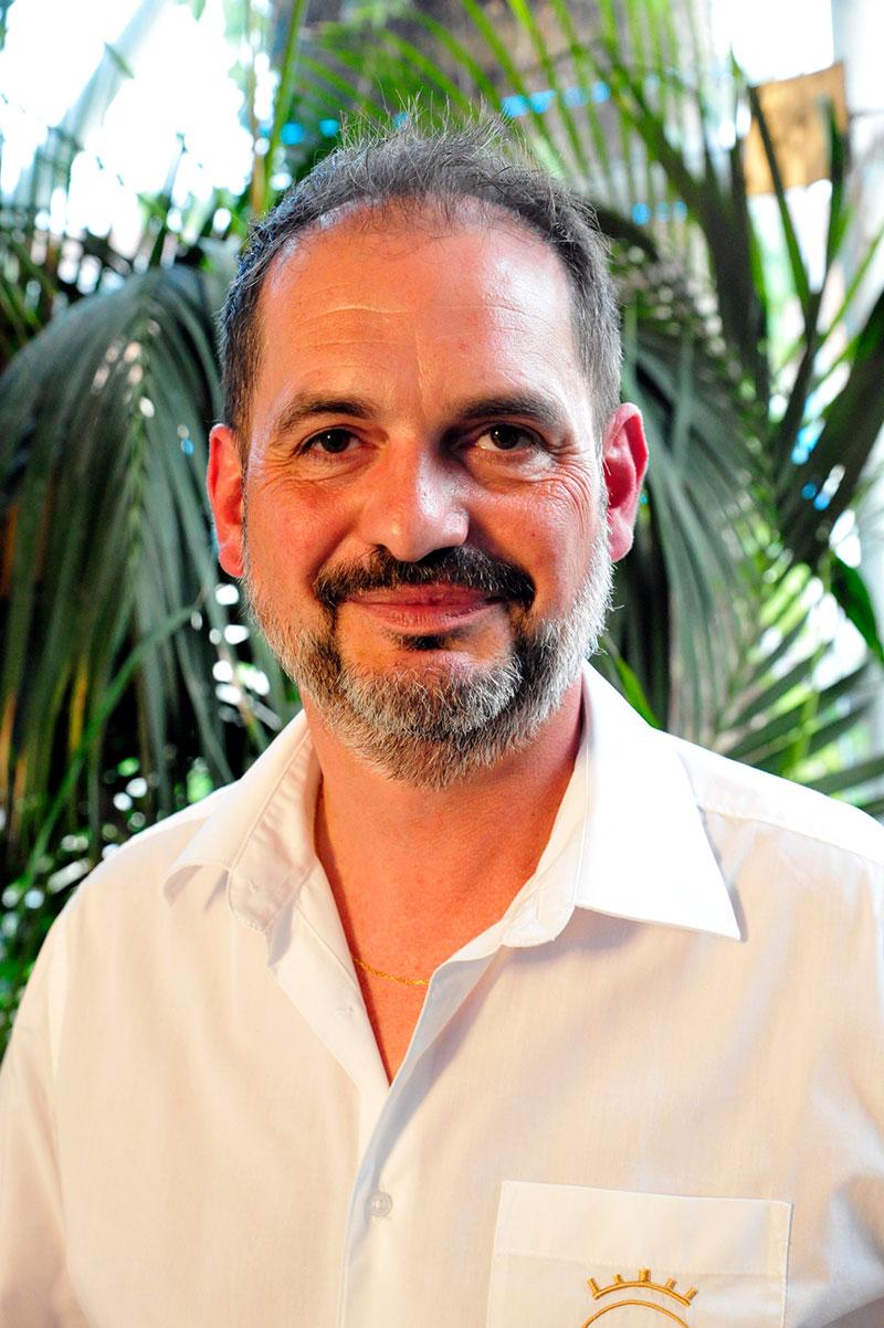 Laurent Bergès, président du Comité des Fêtes de Hagetmau