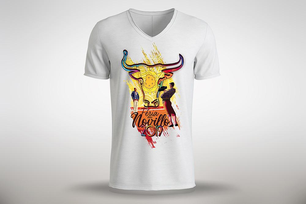 Le t-shirt officiel du Comité des Fêtes pour les Fêtes de Hagetmau 2019
