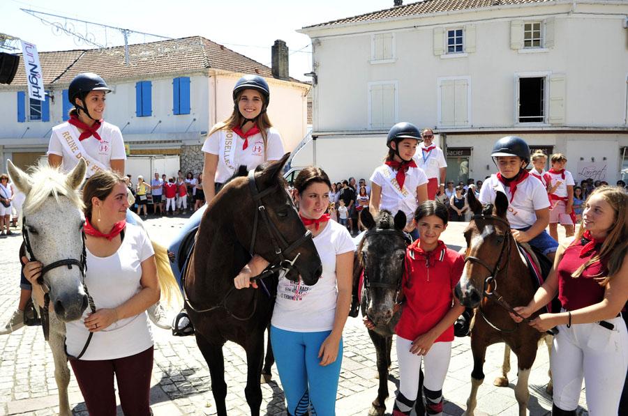Samedi midi, cérémonie de remise des clés aux jeunes de la ville © Jean-Louis Tastet