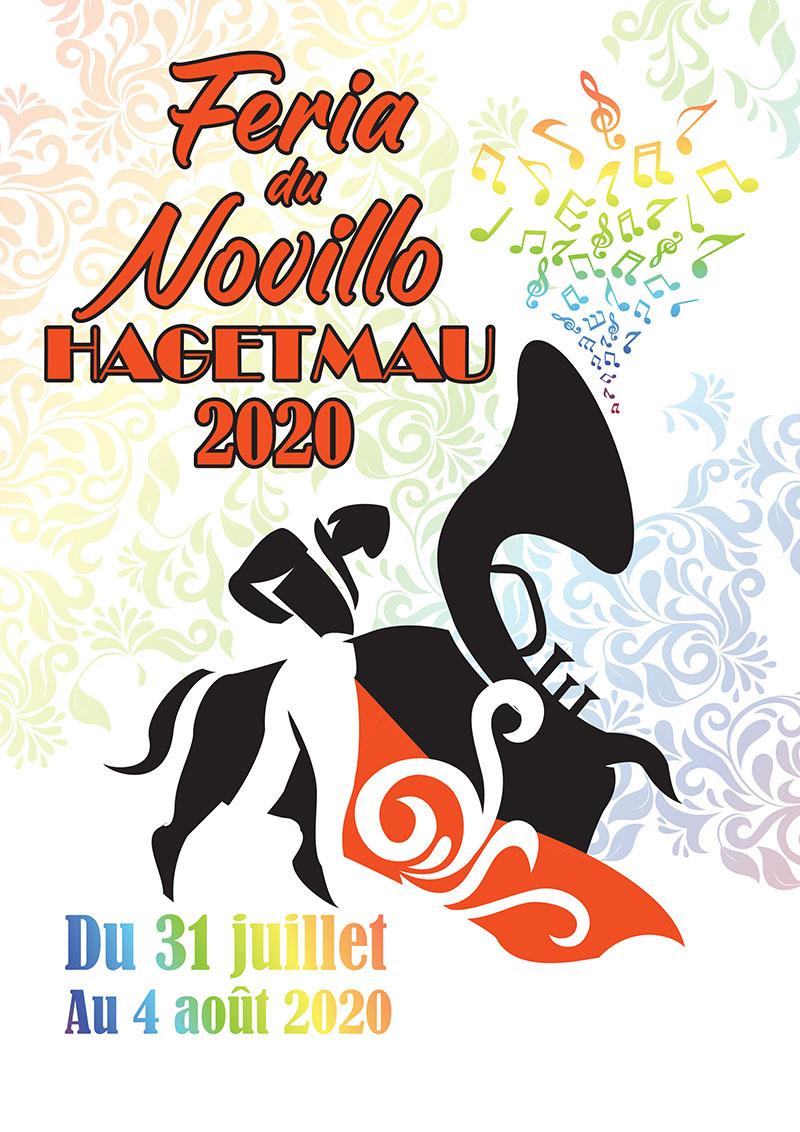 Concours d'affiche Fêtes Hagetmau 2020 - Une proposition de Khalid BartousUne proposition de Khalid Bartous