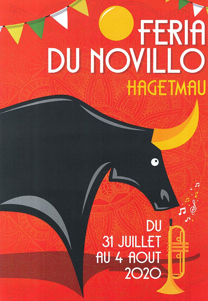Concours d'affiche Fêtes Hagetmau 2020 - Une proposition de Sophie Biasino de Neuilly-en-Thelle