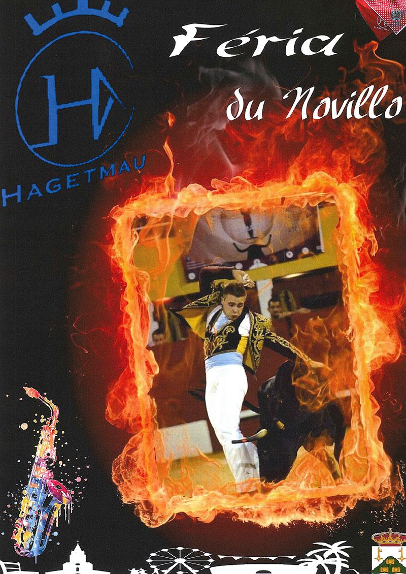 Concours d'affiche Fêtes Hagetmau 2020 - Une proposition de Caroline Blais de Hagetmau