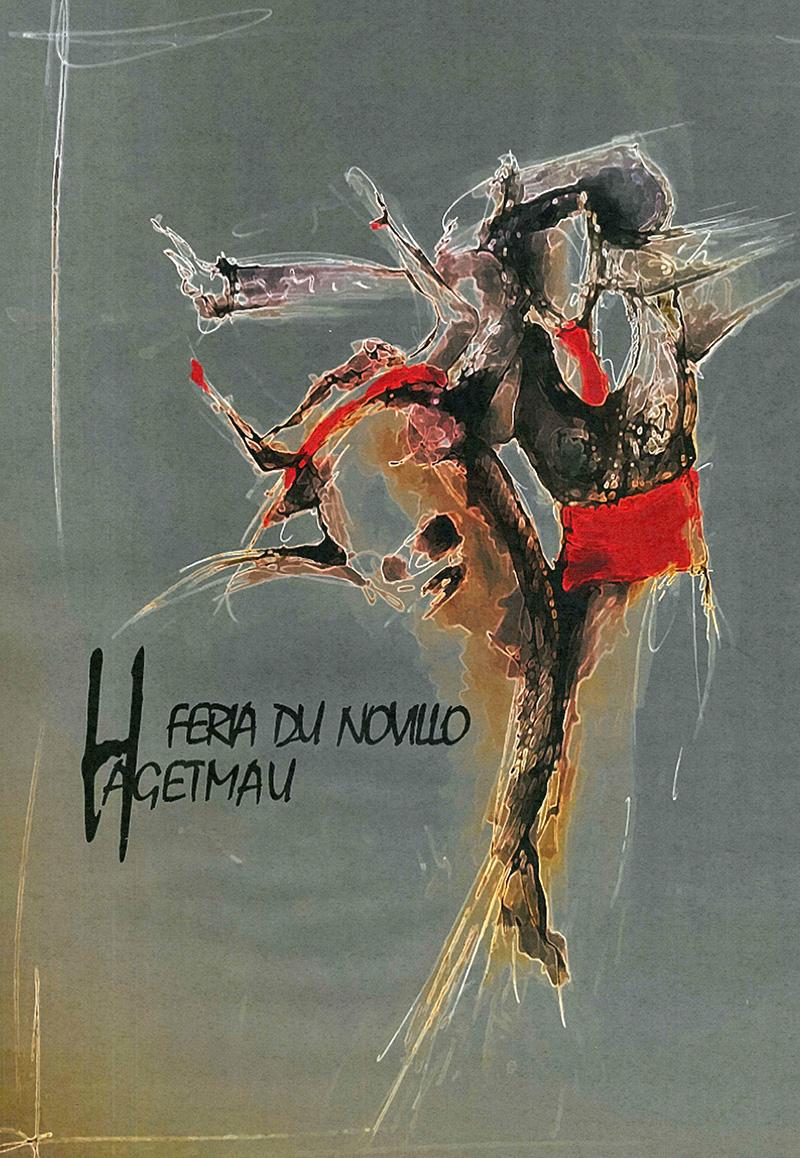 Concours d'affiche Fêtes Hagetmau 2020 - Une proposition de France Deutsch de Royères