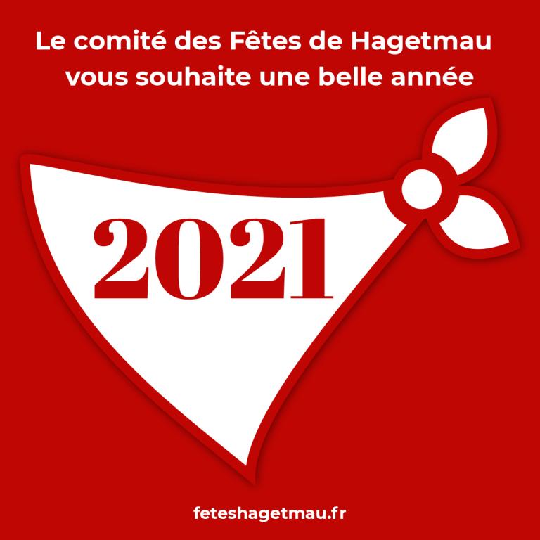 Vœux 2021 du Comité des Fêtes de Hagetmau