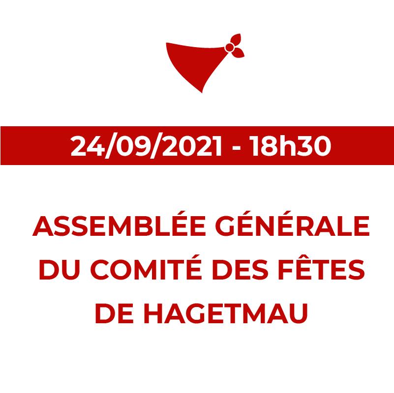AG du comité des Fêtes de Hagetmau 2021
